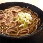 扇屋 - 肉そば(冷)