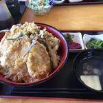いきいき - ハゼ丼 850円(大盛 無料)