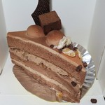 ARAKI - 料理写真:・「ショコラナッツのショート(\410)」