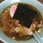 中華料理 まさき亭 - ラーメン ¥490