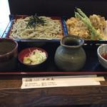 72820822 - 舞茸天蕎麦定食