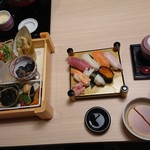 72822043 - 握り寿司セット