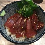中華そば 四つ葉 - 「まぐろ丼」400円