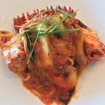 72823195 - 花咲蟹とフレッシュトマトのタリオリーニ