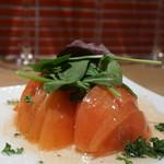 豚農家直営 肉バル BooBooキッチン - トマトガーリック