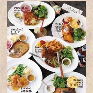 NY本店で大人気の「MEAT&THREE」START!!
