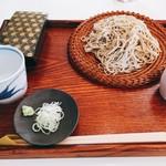 72825035 - ざる蕎麦750円