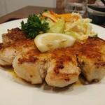 呑み食い処・宗次郎 - ポークソテー350gガーリックバターソース