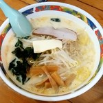 味の札幌 - 味の札幌 浅利@青森 味噌カレー牛乳ラーメン