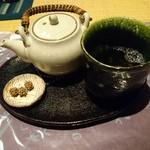 山徳記念館 喫茶コーナー - ほうじ茶(310円)