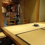 山徳記念館 喫茶コーナー - 店内