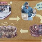 ころたこ - 中に入っているタコは、 福岡県糸島市・野北漁港の新鮮なタコだそうです。