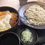 72827652 - ♪カツ丼セット(もり)¥880