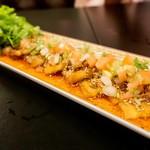 シンガポール・シーフード・リパブリック - 炙り豚のサラダ仕立て。