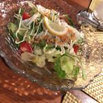 酒肴わらい屋 - 料理写真:名もなきサラダ