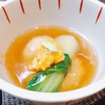 日本料理 瀧 - 胡麻豆腐の揚げだし