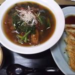 南清軒 - 満腹Aセット(南清飯+手作りギョーザ)