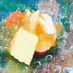 日本料理 瀧 - 野菜たっぷり土佐酢のジュレ