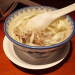 たんや 善治郎 - テールスープ