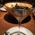 Wine厨房 tamaya - 雲丹と人参のババロア980円