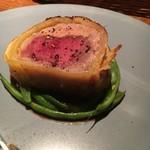 Wine厨房 tamaya - アンガス牛とフォアグラのパイ包み2100円