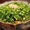 もつ鍋 PLay - 料理写真:湯引きホルモンのネギポン酢500円