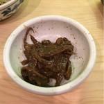 初芳鮨 - 烏賊墨煮