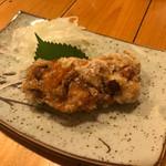 開国厨房ぼちぼち - 脱皮カニの唐揚げ