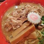麺極 はなみち - ら~麺・豚(アップ)