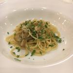 ヴィア デル サーレ - アーティチョークのスパゲティーニ。ニンニクと唐辛子の香りも良くて、アーティチョークも食感がよくておいしかった。