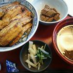 旬食健美  田しろ - いわしの蒲焼き丼822円(税込)
