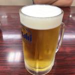 餃子の王将 - 2017年09月09日  生ビール(中)