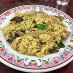 餃子の王将 - 2017年09月09日  豚肉と卵のいりつけ