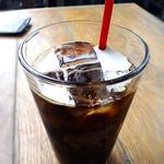 ラ ボデガ - ランチセットのアイスコーヒー