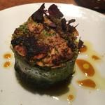 Wine厨房 tamaya - イワシと茄子のパン粉焼き800円