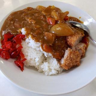源氏食堂 - 料理写真:カツカレーライス・大(950円)