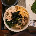 奄美の島料理 新穂花&瀬里奈 - 鶏飯