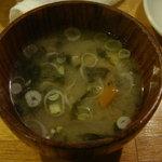 鳥糸 - 110309 味噌汁