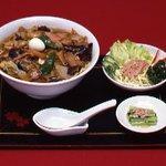 らーめんハウス チャニー - お野菜いっぱいの五目ラーメン