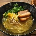 ジャングル ゴリラ - 柚子生姜 塩ラーメン