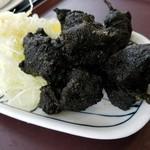 ふじやま食堂 - 「富士山溶岩からあげ」