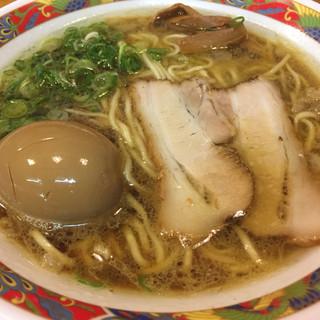 尾道ラーメン中村製麺 - 料理写真:尾道ラーメン+味玉