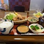 茶居珈 - 唐揚定食