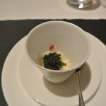 リストランテ カノフィーロ - 海ぶどうと真ダコ、グレープフルーツ