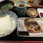 魚玉 - さば塩焼き定食650円