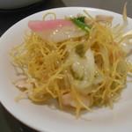 中華飯店 ながさこ - 小皿に盛ってみました
