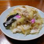 72847708 - 細麺皿うどん、600円