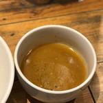 72848358 - 鶏白湯つけ麺のつけ汁