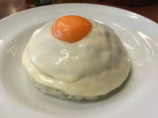 MOKUBAZA - チーズキーマカレー 1,120円