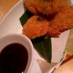 旬菜すし鮮 きずな屋 - ハモカツ 580円